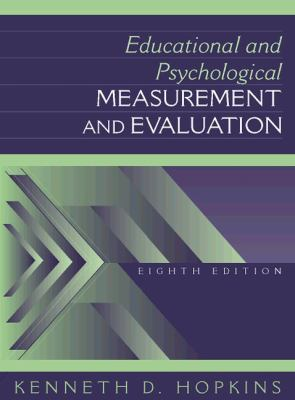 Educational and Psychological Measurement and Evaluation