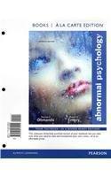 Abnormal Psychology, Books a la Carte Edition (7th Edition)