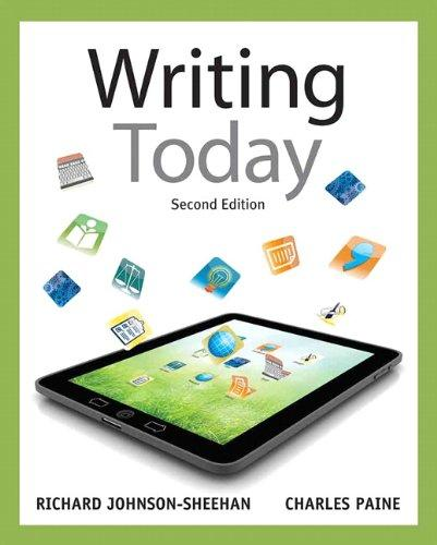 Writing Today (2nd Edition)