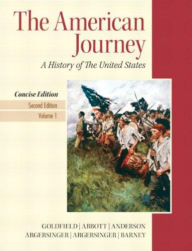 American Journey, The, Concise Edition, Volume 1 Plus NEW MyHistoryLab with eText -- Access Card Package (2nd Edition)