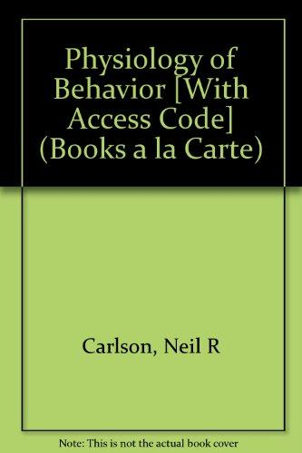 Physiology of Behavior, Books a la Carte Plus NEW MyPsychLab with eText -- Access Card Package (11th Edition)