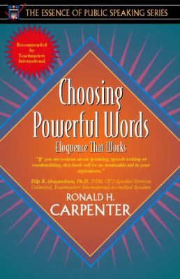 Choosing Powerful Words Eloquence That Works