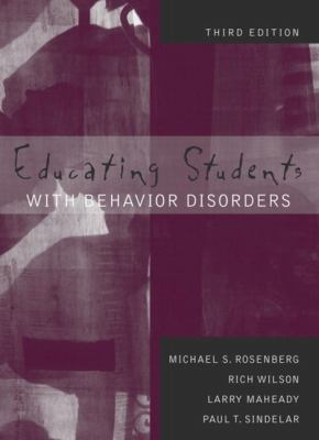 Educating Students with Behavior Disorders (3rd Edition)