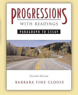 Progressions, With Readings With Mywritinglab