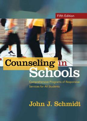 Counseling in Schools Comprehensive Programs of Responsive Services for All Students