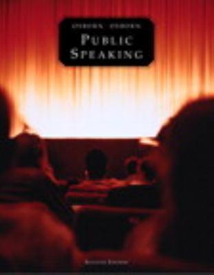Public Speaking, Books a la Carte Plus MySpeechLab CourseCompass (7th Edition)