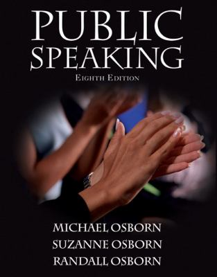 Public Speaking (8th Edition) (MySpeechLab Series)