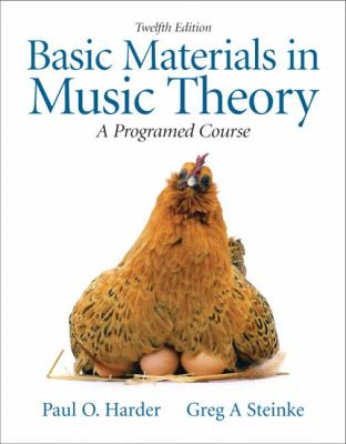 Basic Materials in Music Theory: A Programmed Approach (with Audio CD)