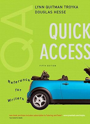 MyCompLab NEW with Pearson eText Student Access Code Card for Quick Access, Reference for Writers (standalone) (5th Edition)