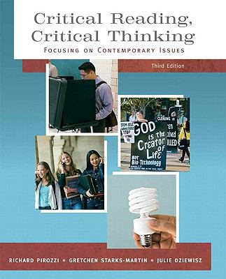 Critical Reading Critical Thinking: Focusing on Contemporary Issues (with MyReadingLab Student Access Code Card)