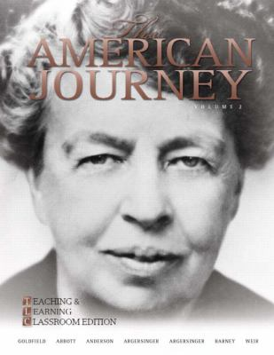 The American Journey: Teaching and Learning Classroom Update Edition, Volume 2 (5th Edition)