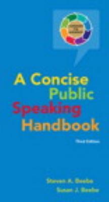 Concise Public Speaking Handbook (3rd Edition)