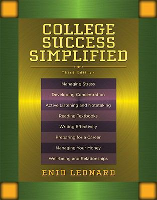 College Success Simplified (3rd Edition)
