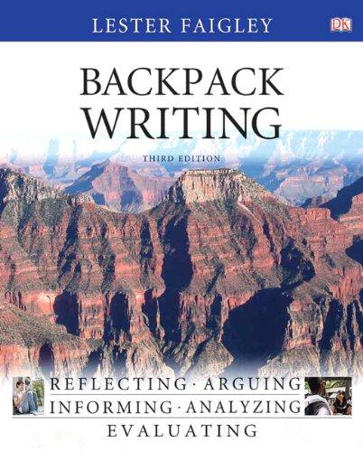 Backpack Writing (3rd Edition)