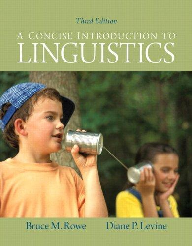 Concise Introduction to Linguistics, A Plus MySearchLab with eText -- Access Card Package (3rd Edition)
