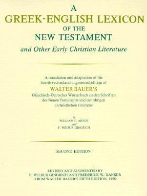 Greek-english Lexicon of New Testament