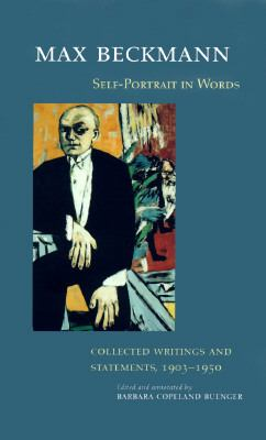 Self-Portrait in Words Collected Writings and Statements, 1903-1950