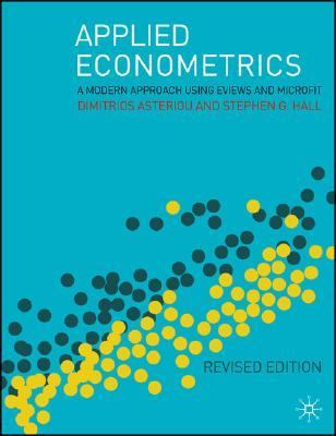 applied econometrics a modern approach using eviews and microfit pdf