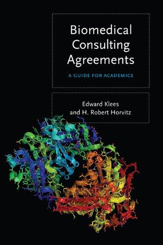 Biomedical Consulting Agreements: A Guide for Academics