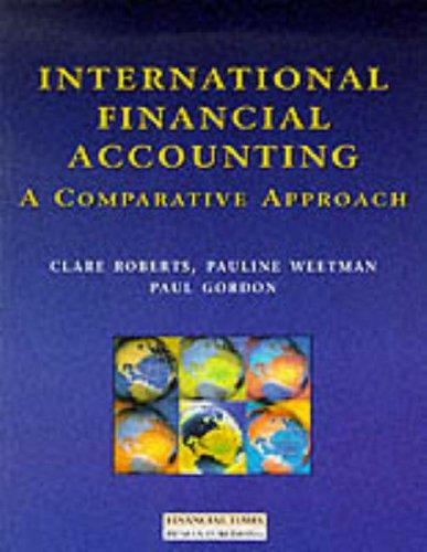 International Financial Accounting: A Comparative Approach
