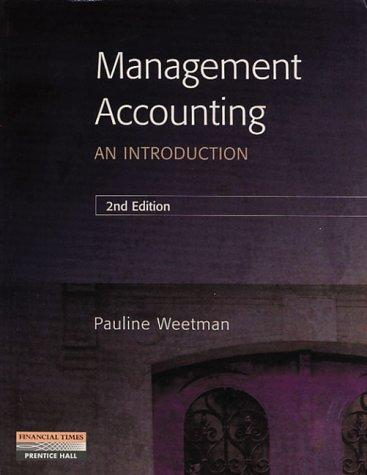 Management Accounting: An Introduction
