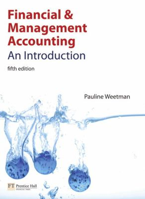 Financial & Management Accounting With Myaccountinglab Acces