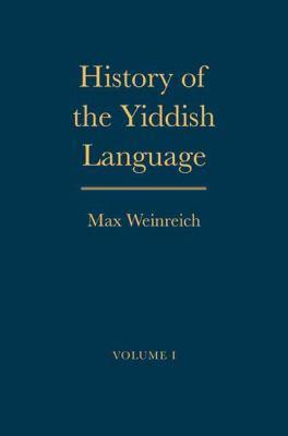 History of the Yiddish Language