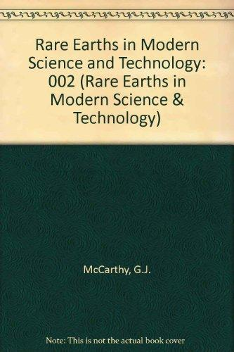 The Rare Earths in Modern Science and Technology: Volume 2