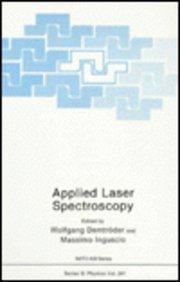 Applied Laser Spectroscopy (NATO Science Series B: Physics)