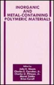 Inorganic and Metal-Containing Polymeric Materials (The Language of Science)