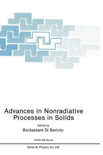 Advances in Nonradiative Processes in Solids (Nato Science Series B:)