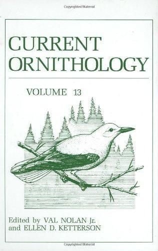 Current Ornithology, Volume 13