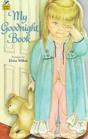 My Goodnight Book (Golden Sturdy Shape Book)
