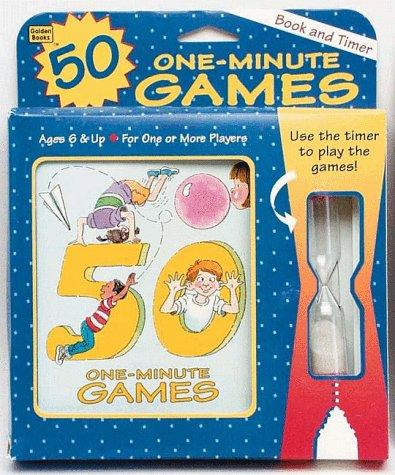 50 One-Minute Games (Booktivity)