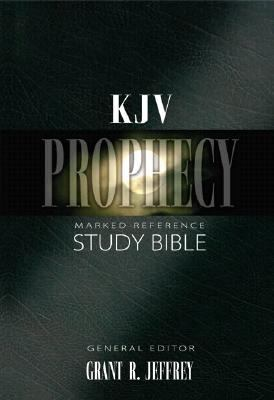 KJV Prophecy Marked Reference Study Bible - Grant R. Jeffrey - Hardcover