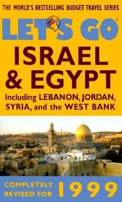 Let's Go Israel & Egypt 1999 - Let's Go Travel Guides - Paperback - REVISED
