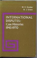 International Disputes: Case Histories, 1945-1970
