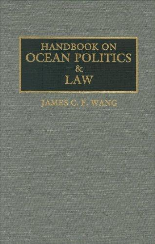 Handbook on Ocean Politics and Law