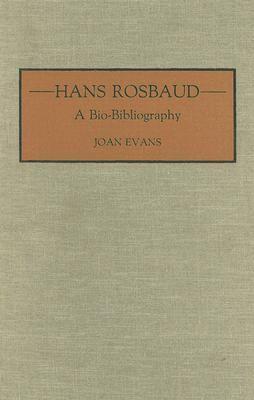 Hans Rosbaud A Bio-Bibliography