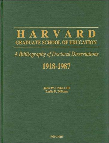 bibliography of doctoral dissertations Dissertations online dissertation abstracts - see: dissertations and theses full  text (proquest) proquest database with north american phd thesis, mostly.