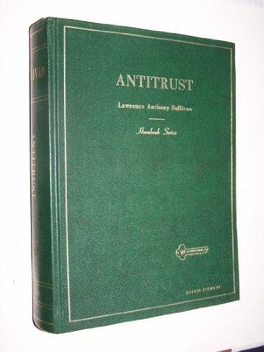 Handbook of the Law of Antitrust