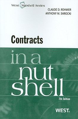 Contracts in a Nutshell, 7th (Nutshell Series)