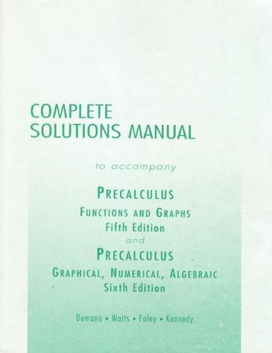 Precalculus Ism Sup