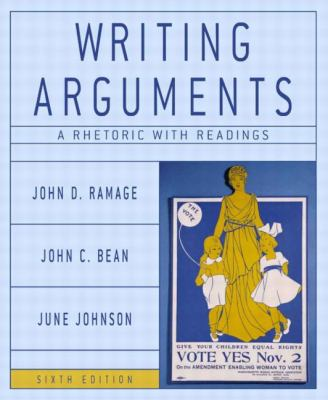 Writing arguments a rhetoric with readings concise edition