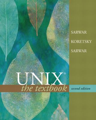 UNIX The Textbook