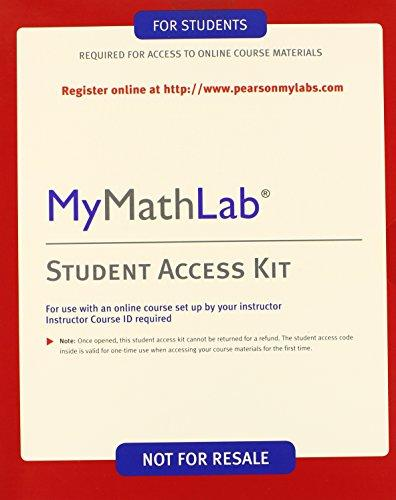Mymathlab - Valuepack Access Card