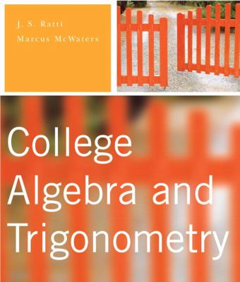 College Algebra and Trigonometry College Algebra And Trigonometry