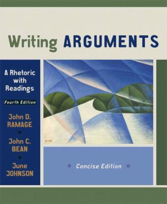 Writing arguments a rhetoric with readings sixth edition
