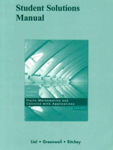 calculus with applications solutions manual pdf