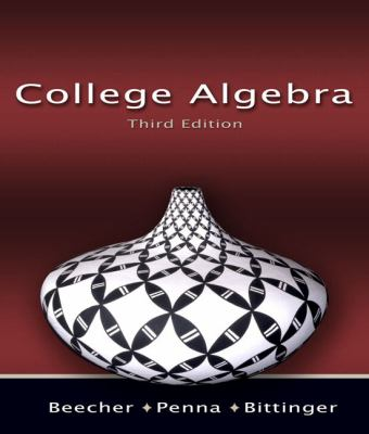 College Algebra (3rd Edition)